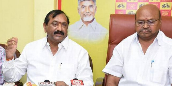 TDP leaders rebut YSRCPcharges against deputy CM