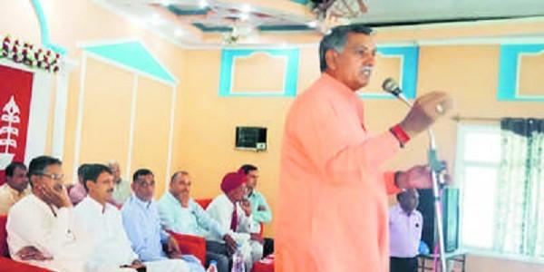 कार्यकर्ताओं ने मेरा चुनाव मोदी के नाम पर लड़ा : धर्मबीर