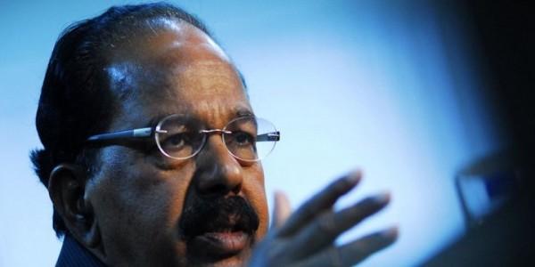 वीरप्पा मोइली का बड़ा बयानः कहा 'हम नहीं चाहते उत्तर प्रदेश में SP-BSP गठबंधन हारे'