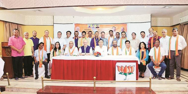 New MLAs in party, Goa BJP holds 'bonding session' with lessons