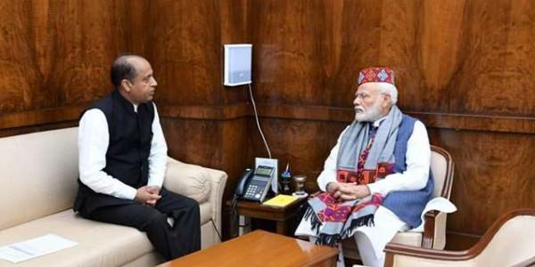दिल्ली में प्रधानमंत्री नरेंद्र मोदी से सीएम जयराम ठाकुर की मुलाकात, इन मुद्दों पर हुई चर्चा