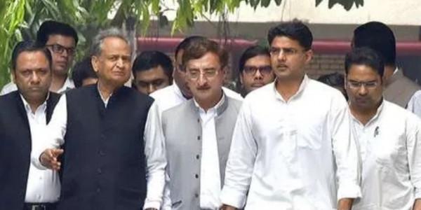 आज जयपुर में सड़क पर उतरेगी कांग्रेस, CM गहलोत, पायलट, मंत्री, विधायक करेंगे पैदल मार्च