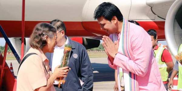 thailand-princess-maha-chakri-sirindhorn-visits-8th-century-unakoti-rock-carvings-in-tripura-biplab-deb