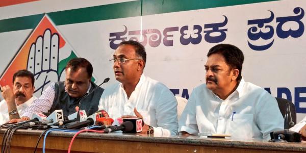कर्नाटक में कांग्रेस ने बीजेपी को दी बड़ी चेतावनी