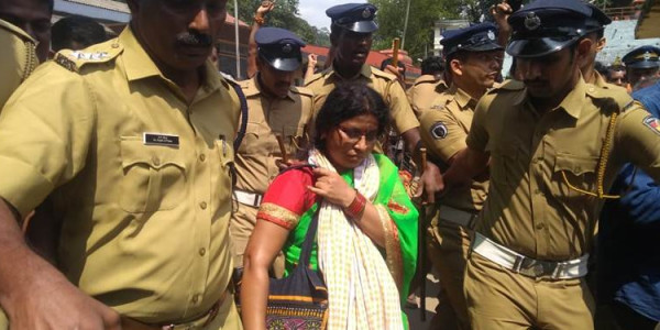 RSS leader: I have verified age-proof documents of all female cops at Sabarimala