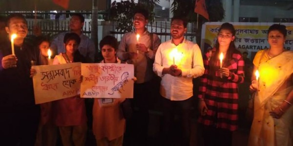 pulwama-attack-protest-erupt-in-tripura-student-leaders-call-for-stern-action-against-pakistan