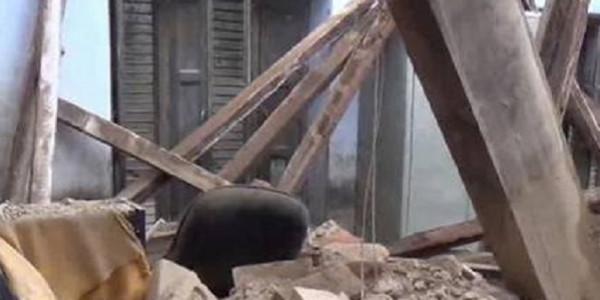 निर्माणाधीन पीएम आवास की छत गिरने की जांच के आदेश