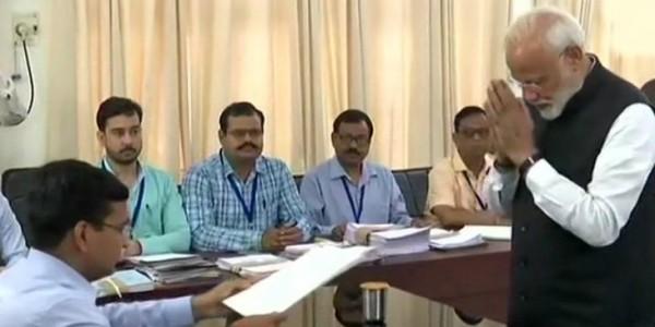 पीएम मोदी ने वाराणसी से नामांकन दाखिल किया, नीतीश कुमार, उद्धव ठाकरे समेत कई नेता मौजूद रहे