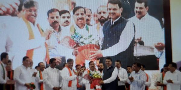 महाराष्ट्र में चुनाव से पहले कांग्रेस और NCP में 'सियासी भगदड़', दो बड़े चेहरों ने थामा BJP का दामन