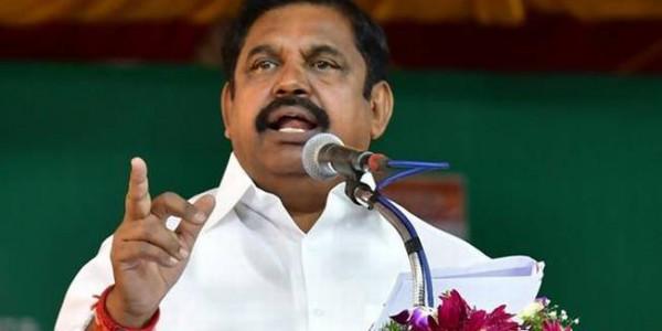Vested interests behind anti-Sterlite protests, says Tamil Nadu CM Palaniswami