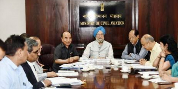 Aviation Minister Chairs Meeting Through Video Conference On RCS With States/UTs