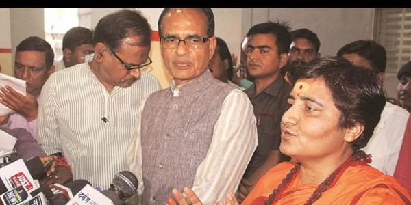 साध्वी प्रज्ञा सिंह ठाकुर ने कहा- मेरे शब्दों से ठेस पहुंची है तो क्षमा करें, 21 प्रहर का मौन साधा