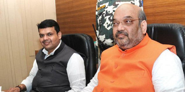 शिवसेना को छोड़ NCP से हाथ मिला सकती है BJP, आधी रात को अमित शाह के घर पर हुई बैठक