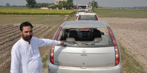 Illegal miners 'attack' ex-MLA in Ajnala