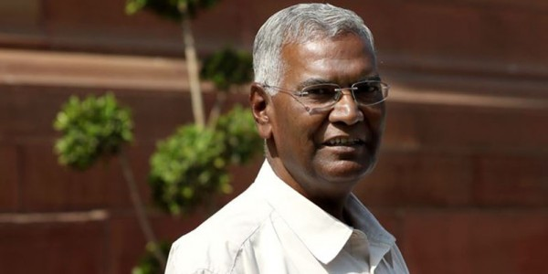 lok-sabha-raja-angry-with-bjd-said-that-left-party-prepares-to-alliance-with-congress-in-odisha