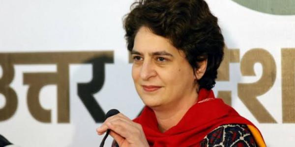 बीजेपी की कुनीतियों के चलते आमदनी जीरो है: प्रियंका गाँधी