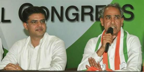 अपनी ही सरकार के खिलाफ आमरण अनशन पर बैठे कांग्रेस विधायक