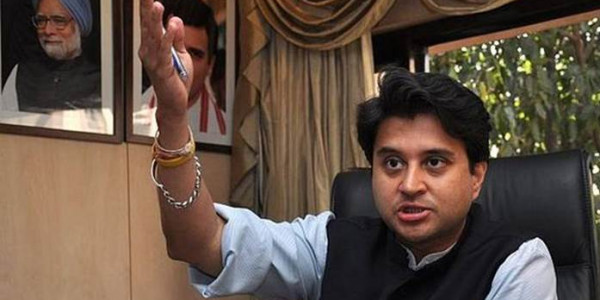 Congress needs to project a face in poll-bound states, says Jyotiraditya Scindia
