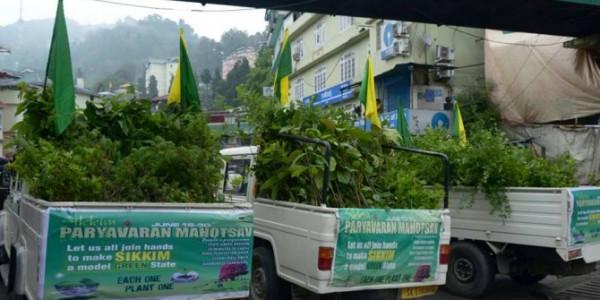 Paryavaran Mahotsav Launched in Sikkim