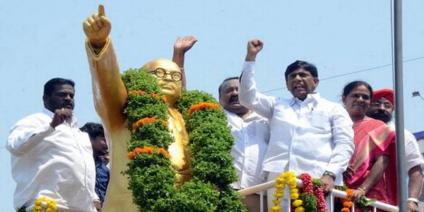 Ambedkar Jayanti celebrated across Telangana