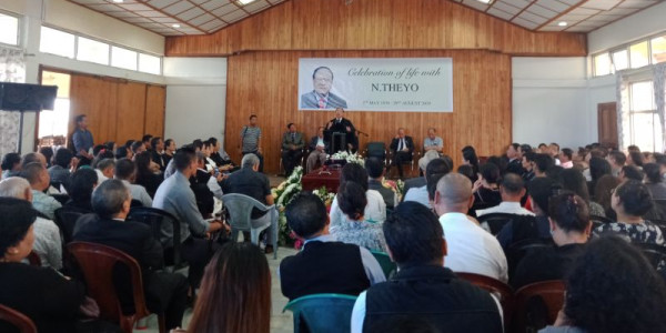 Solemn send-off for N Theyo in Kohima