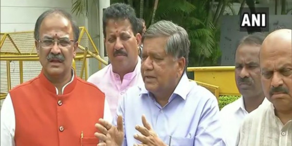 Karnataka Crisis: BJP Leaders Meet Governor Over Delay In Trust Vote