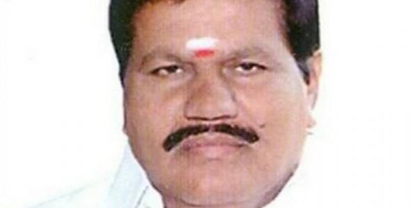 Sulur AIADMK MLA Kanagaraj dies of cardiac arrest