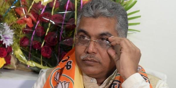 पश्चिम बंगाल भाजपा अध्यक्ष दिलीप घोष ने भाटापारा घटना में सीबीआई जांच की मांग की