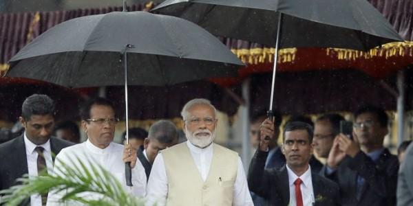When presidents held umbrellas for Modi
