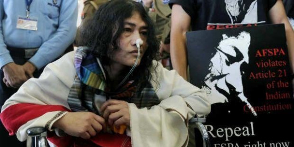 Manipuris hypnotised by muscle power of politics: Irom Sharmila