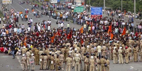 आज महाराष्ट्र बंद, सुरक्षा के इंतजाम पुख्ता, सोशल मीडिया से भी की जाएगी निगरानी