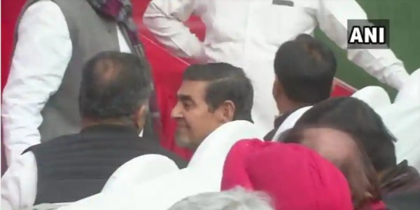 No respect for Sikhs Jagdish Tytler shows up at Congress event