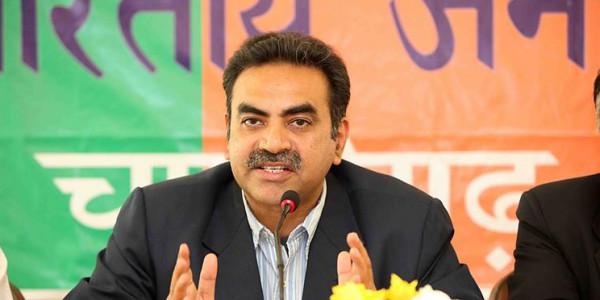 Tandon hails BJP's victory in Tripura