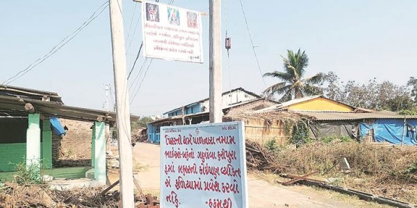 gujarat-navsari-tribe-village-ban-christian-entry-banners