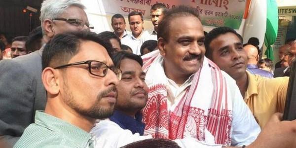 Former YSR secy joins Cong. in Assam