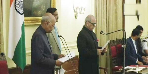 भारत के पहले लोकपाल बने जस्टिस पिनाकी घोष, राष्ट्रपति ने दिलाई शपथ