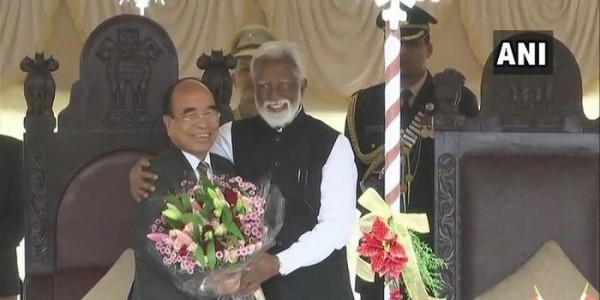 Zoramthanga Takes Oath as Mizoram Chief Minister