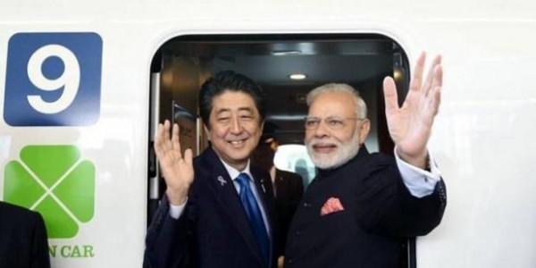 अगले महीने भारत पहुंचेंगे जापानी पीएम शिंजो आबे, अहमदाबाद में रखेंगे बुलेट ट्रेन की आधारशिला
