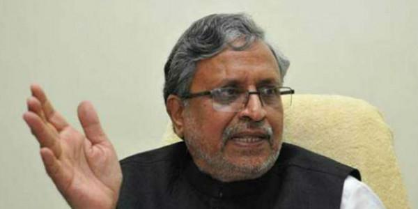 टुकड़े-टुकड़े गैंग का साथ देने के कारण कांग्रेस हुई पराजित : सुशील मोदी