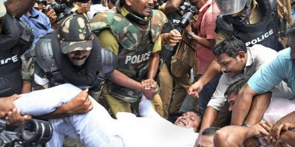 YC activists injured as protest turns violent