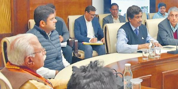 हरियाणा के 75 गांवों को लाल डोरा मुक्त करने की योजना, सीएम खट्टर ने की बैठक