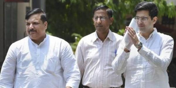 चुनाव आयोग से AAP नेता राघव चड्ढा ने की शिकायत, EVM पर उठाए सवाल