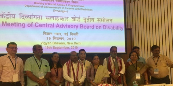 Odisha Minister Panda Demands Centre for Disability Sports in Bhubaneswar