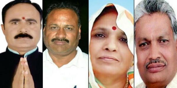मुंगावली में भाजपा को बढ़त, कोलारस में कांग्रेस आगे