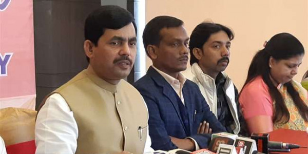 darjeeling-challenge-given-to-congress-by-bjp-leader-shahnawaz-hussain-of-discuss-in-parliament-on-rafael-issue