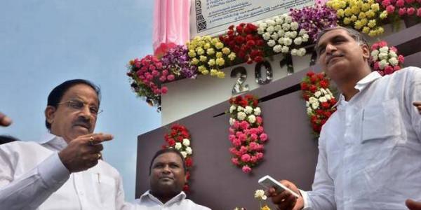 Harish commissions Palamvagu irrigation project