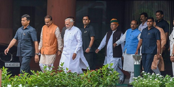 BJP's First Parliamentary Party Meeting for Ongoing Session on Tuesday