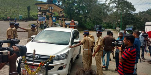 Sabarimala: Situation calm in Nilakkal, devotees being sent to Pamba in state transport buses