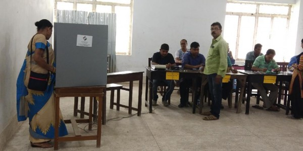 77% turnout in re-polling for Tripura West LS seat (Evening Lead)