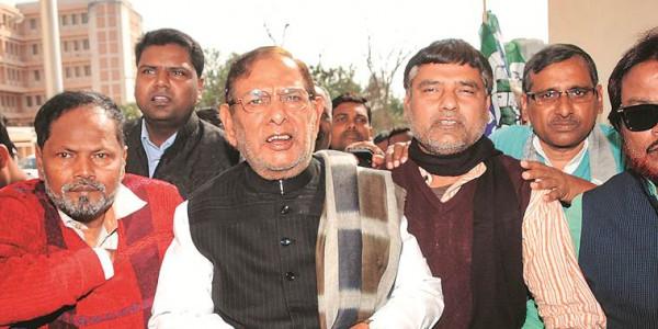 Sharad Yadav meets Lalu Prasad Yadav in hospital: 'Opposition unity coming forth'